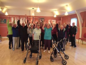 CrossWALKER on tour among active seniors