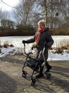 CrossWALKER - new walker for rehabilitation when support is needed in the walk function