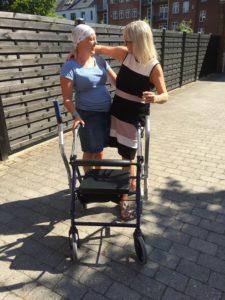 CrossWALKER gives pleasure when support is needed in the walk function