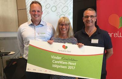 CrossWALKER - vinder af CareWare-Next Ide prisen 2017