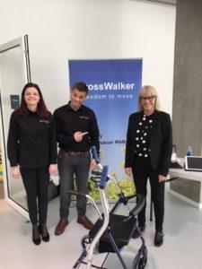 CrossWALKER - new type of walker for the Knowledge Center for Welfare Technology West Denmark