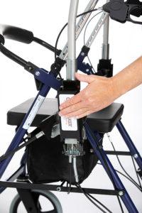 CrossWALKER - ny rollator til træning, genoptræning og hjælp til daglig bevægelse og gangstøtte